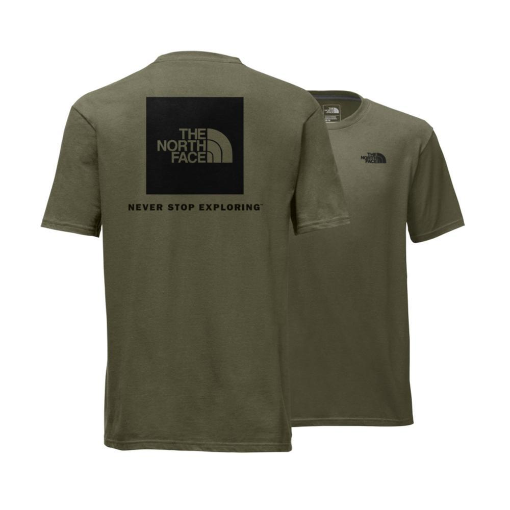 The North Face Men's Short-Sleeve Red Box Tee BNTOLIVE_N0W