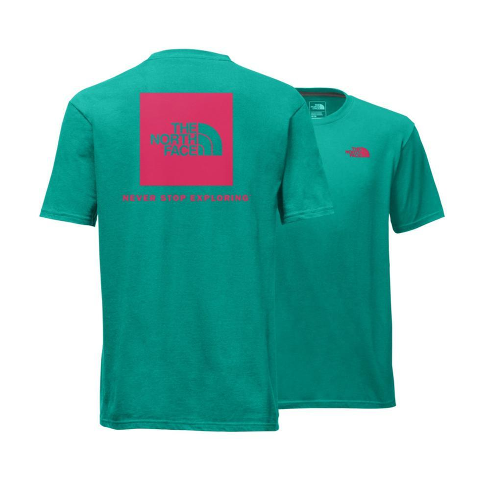 The North Face Men's Short-Sleeve Red Box Tee GREENRED_4JZ