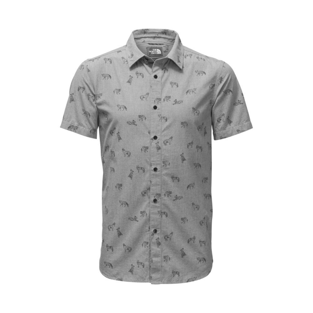 The North Face Men's Short-Sleeve Bay Trail Shirt 4MT_GREY