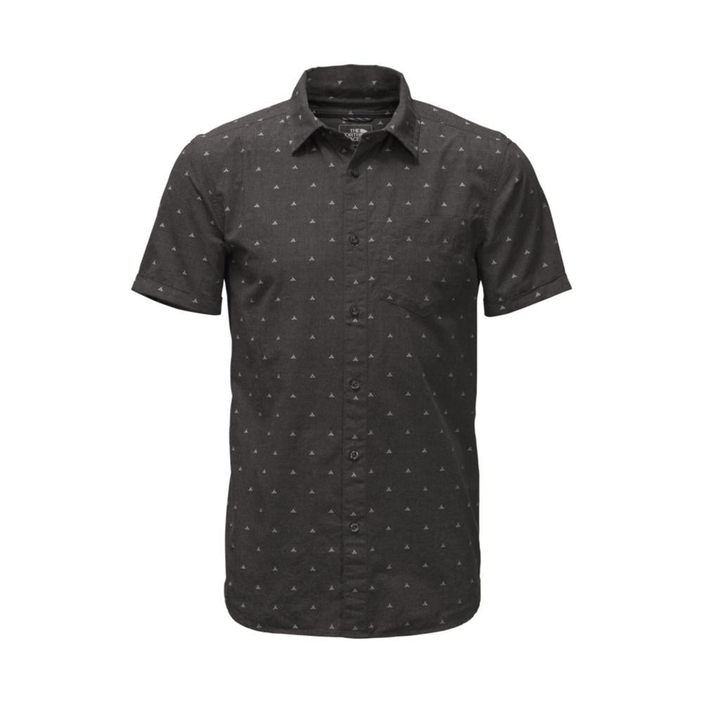 The North Face Men's Short-Sleeve Bay Trail Jacquard Shirt 4MV_BLACK