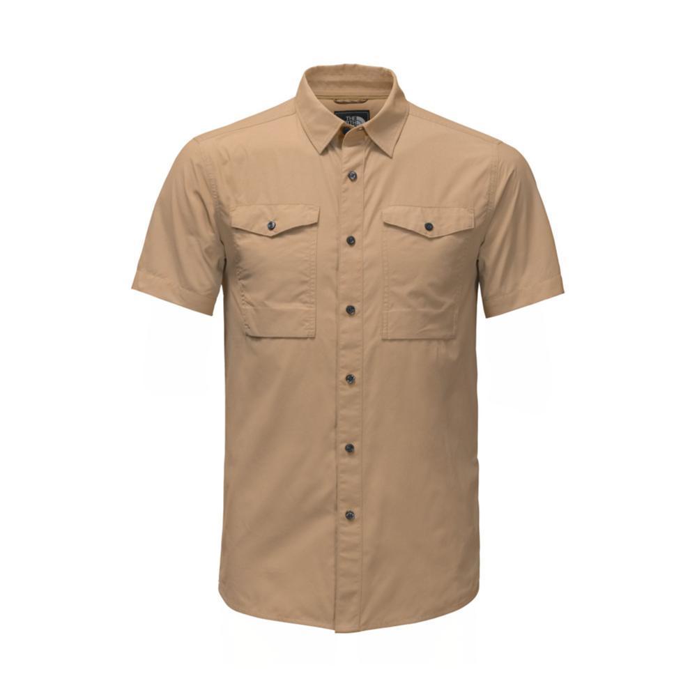 The North Face Men's Short-Sleeve Monanock Utility Shirt PLX_TAN