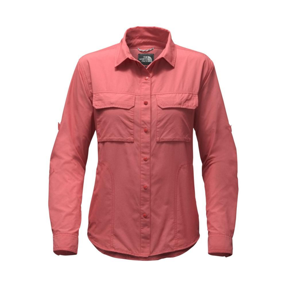 The North Face Women's Long-Sleeve Swatara Utility Shirt PKB_RED