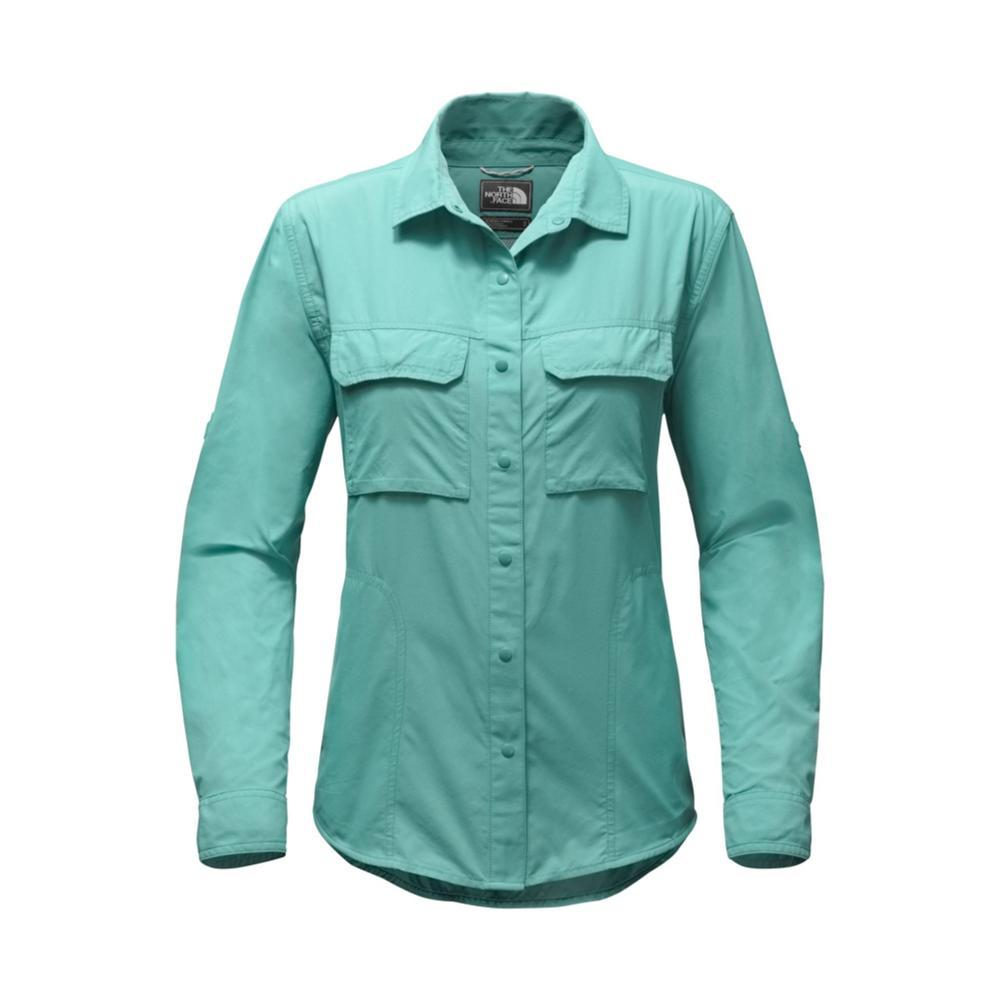 The North Face Women's Long-Sleeve Swatara Utility Shirt ZBP_BLUE