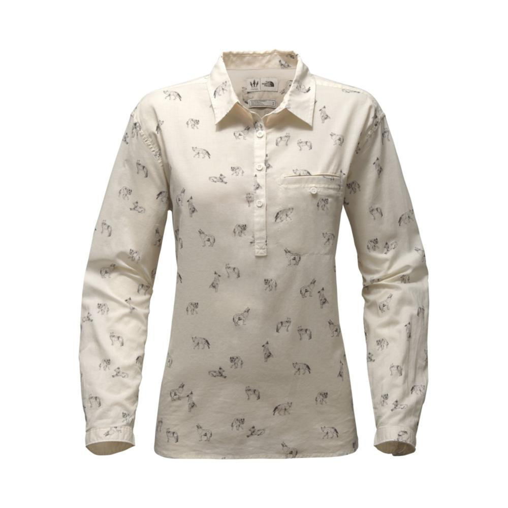 The North Face Women's Long-Sleeve Barilles Pullover Shirt 3TA_WHITE