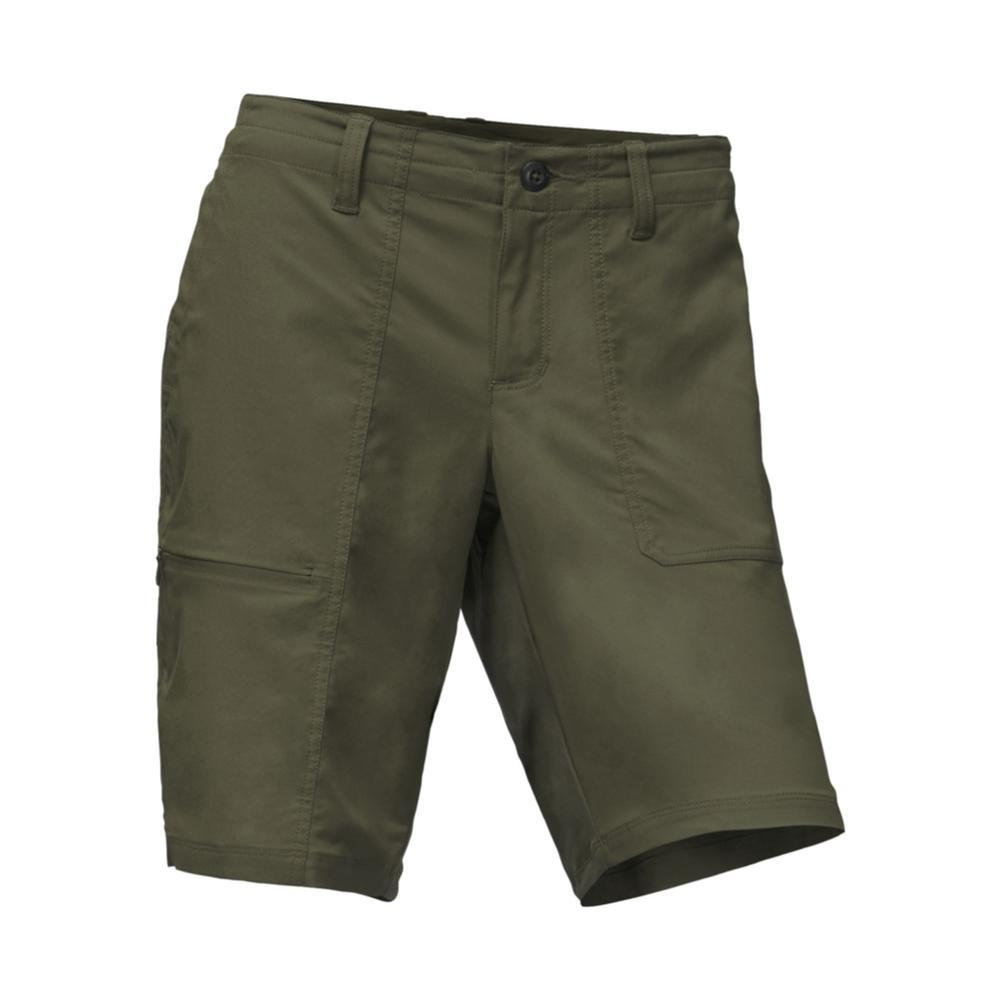 The North Face Women's Aphrodite Ridge Shorts - 11in 21L_GREEN