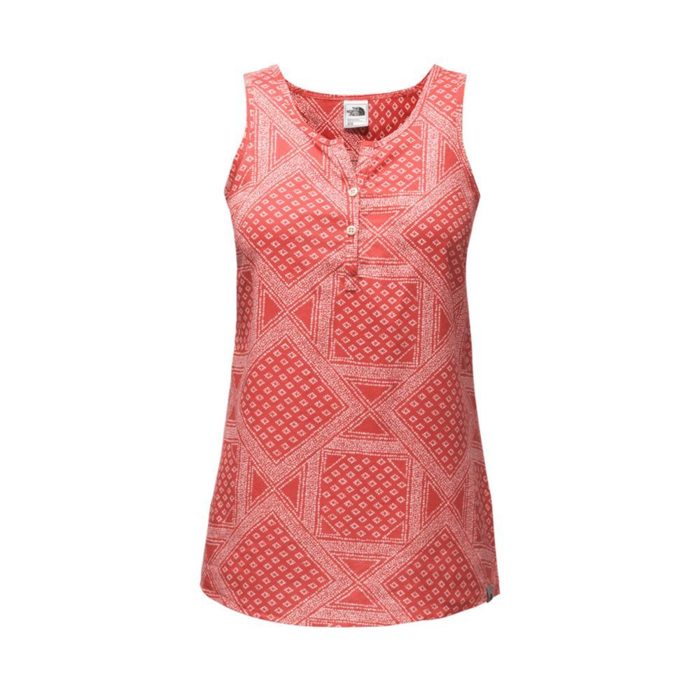 The North Face Women's Barilles Tank 1NP_RED