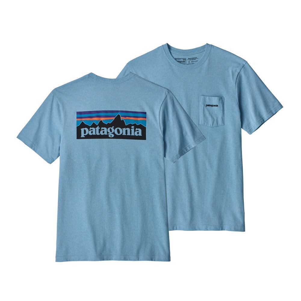 Patagonia Men's P-6 Logo Pocket Responsibili-Tee BUPB