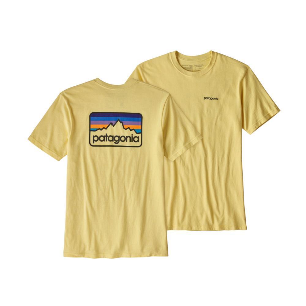 Patagonia Men's Line Logo Badge Cotton/Poly Responsibili-Tee CYELLOW_CSTY