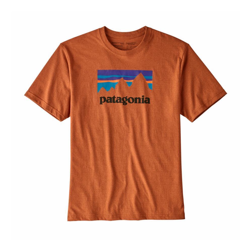 Patagonia Men's Shop Sticker Responsibili-Tee COPPER_CPOR