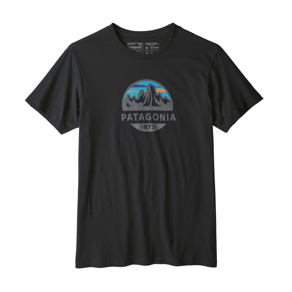 Patagonia Men's Fitz Roy Scope Organic T-Shirt BLACK_BLK