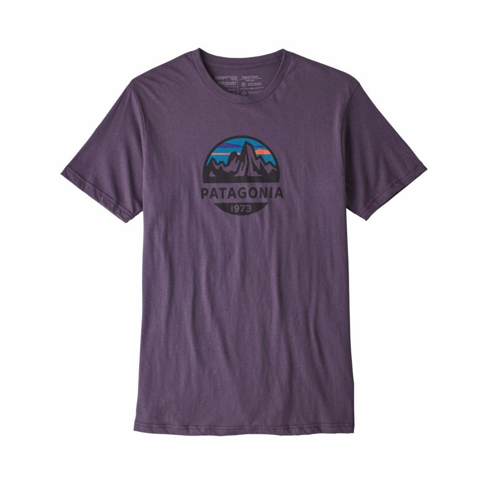 Patagonia Men's Fitz Roy Scope Organic T-Shirt PPURPL_PTPL