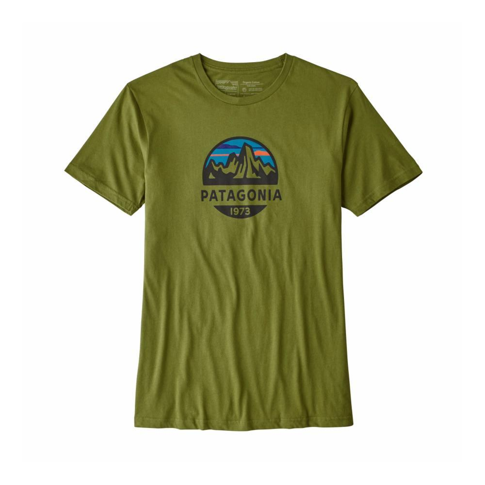 Patagonia Men's Fitz Roy Scope Organic T-Shirt SPRGREEN_SPTG