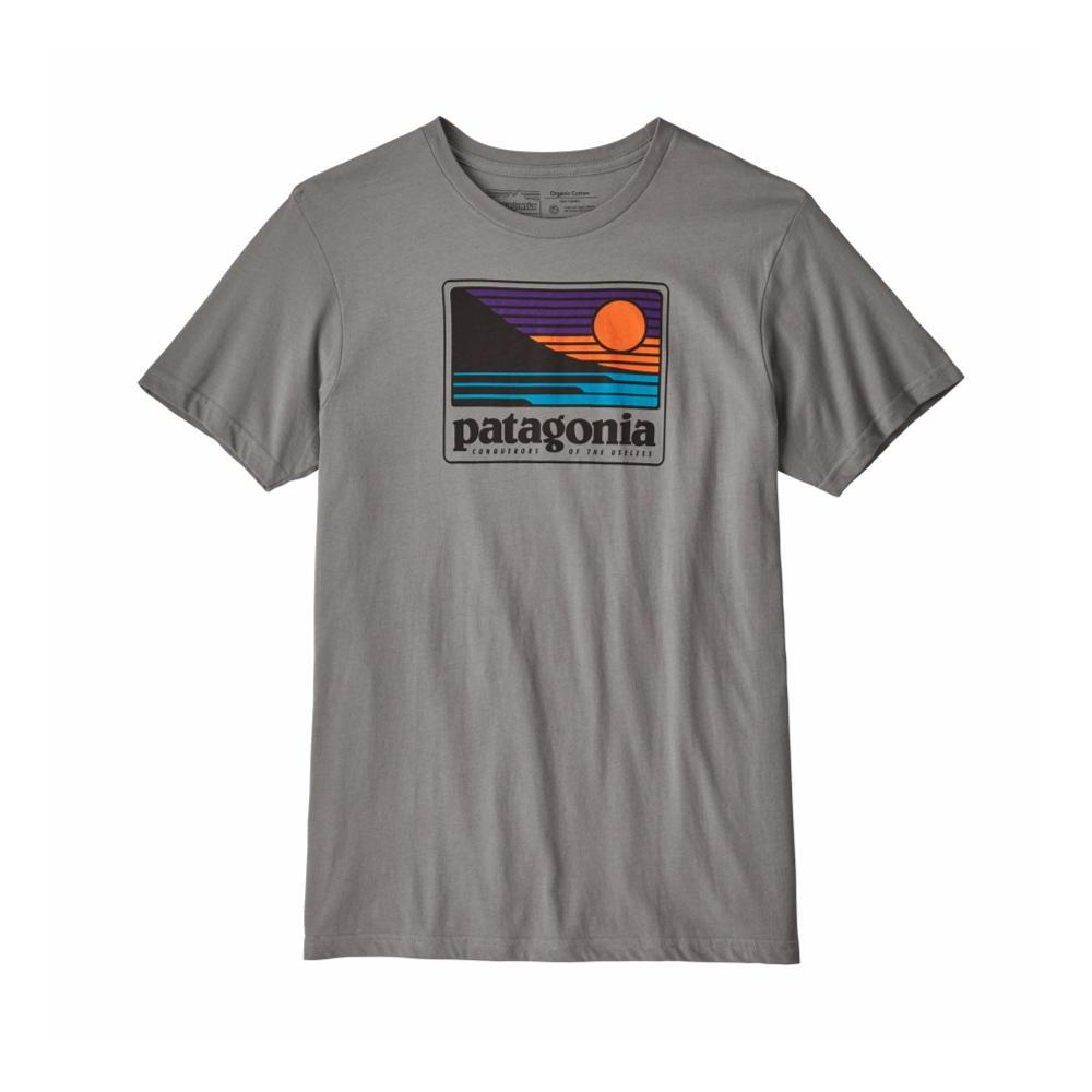 Patagonia Men's Up & Out Cotton/Poly T- Shirt FGREY_FEA