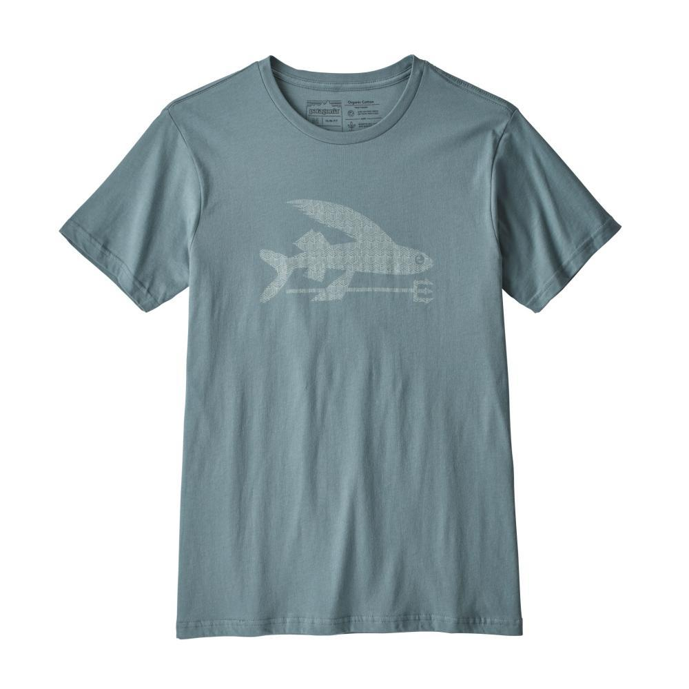 Patagonia Men's Flying Fish Organic T-Shirt SHADOW_SHHS
