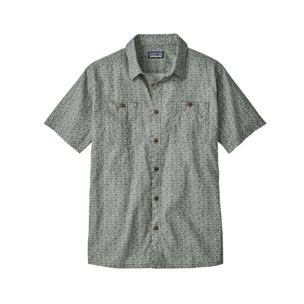 Patagonia Men's Back Step Short Sleeve Shirt BAHG_GREY