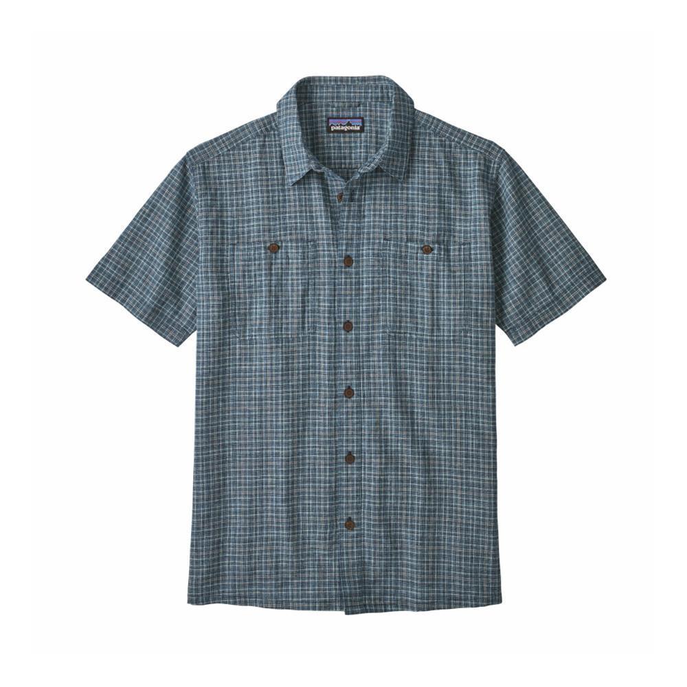 Patagonia Men's Back Step Short Sleeve Shirt TICN_NAVY