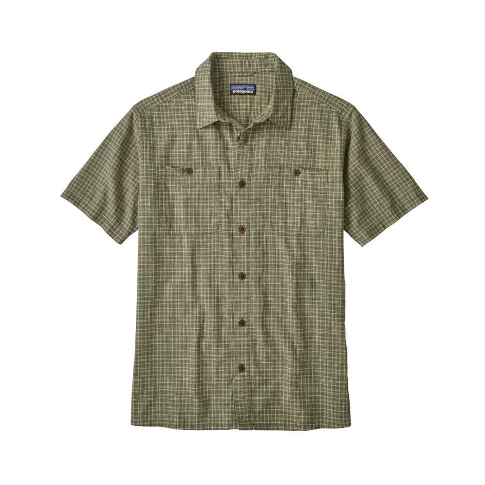 Patagonia Men's Back Step Short Sleeve Shirt TIIN_GREEN