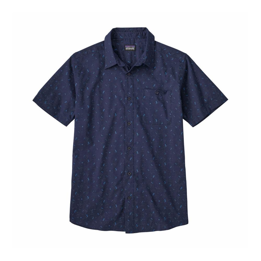 Patagonia Men's Go To Short Sleeve Shirt ROCC_NAVY