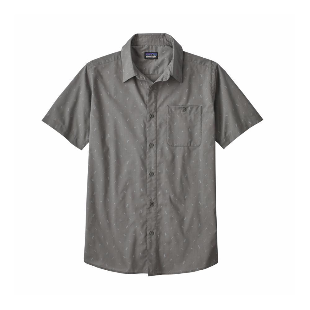 Patagonia Men's Go To Short Sleeve Shirt ROCF_GREY