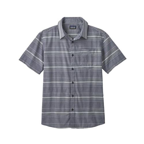 Patagonia Men's Fezzman Short Sleeve Shirt Rucn_navy