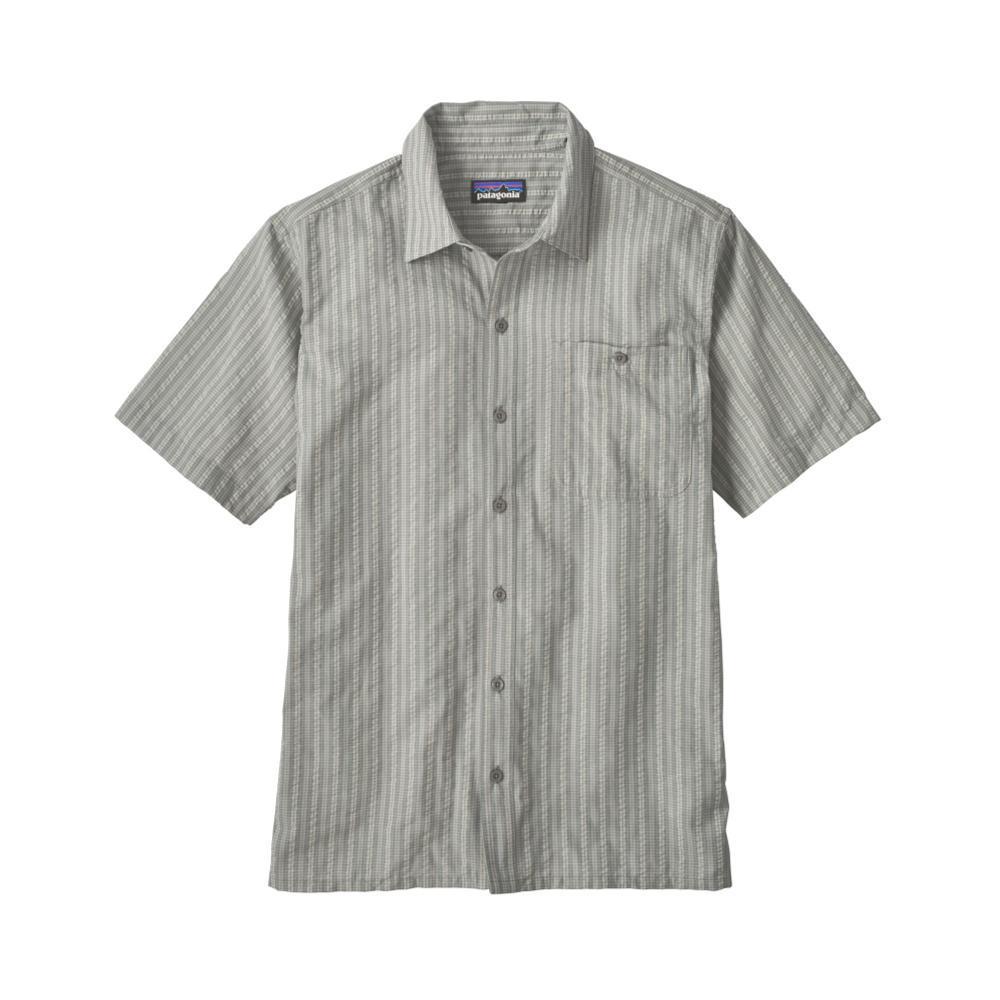 Patagonia Men's Puckerware Short Sleeve Shirt TWID_GREY