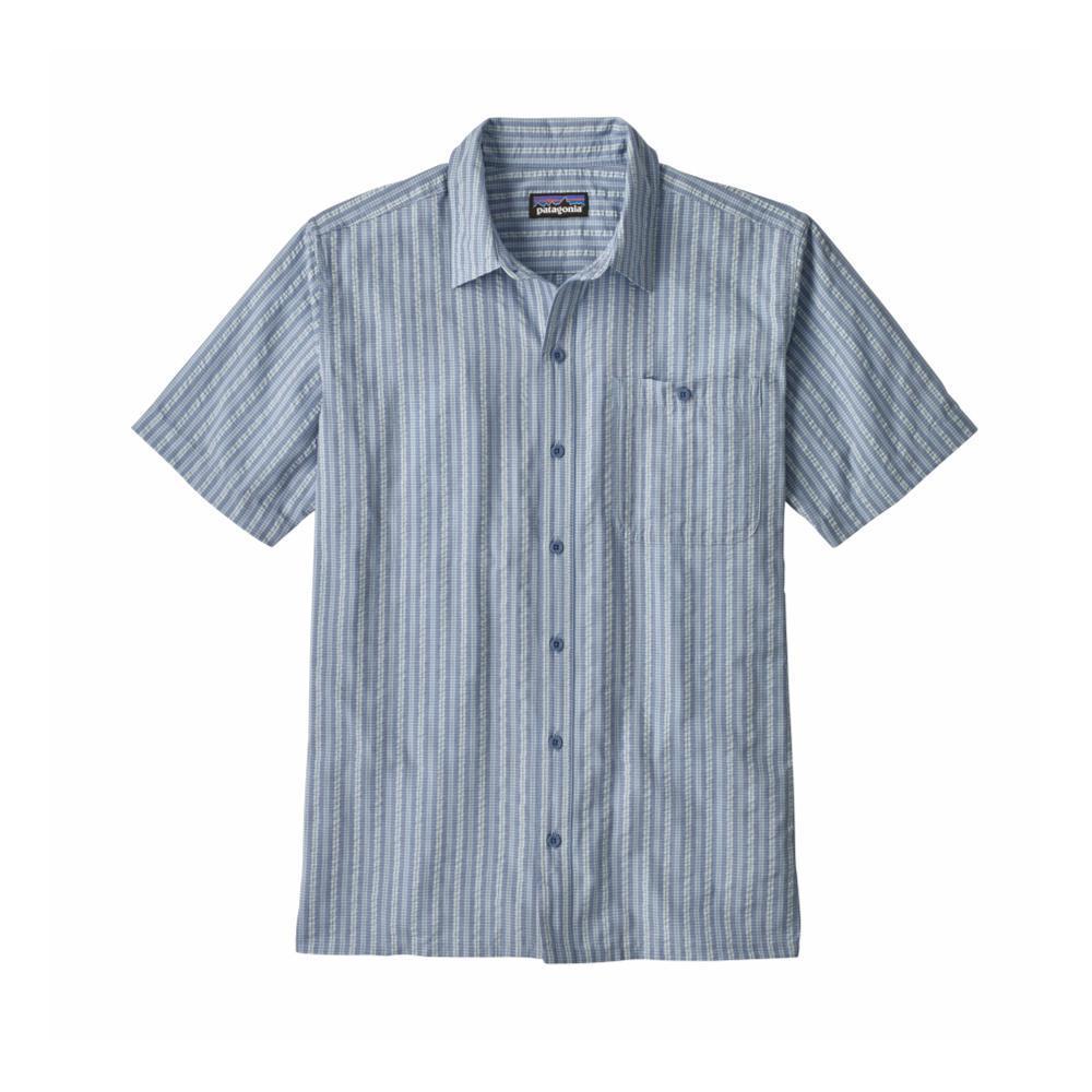 Patagonia Men's Puckerware Short Sleeve Shirt TWIR_BLUE