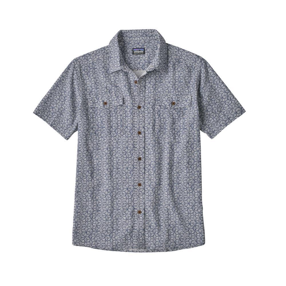 Patagonia Men's Streersman Short Sleeve Shirt BADB_BLUE