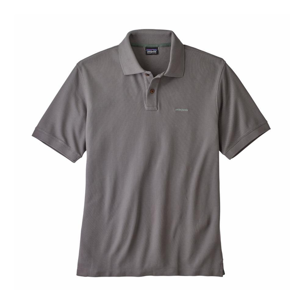Patagonia Men's Belwe Pique Polo HEXG_GREY