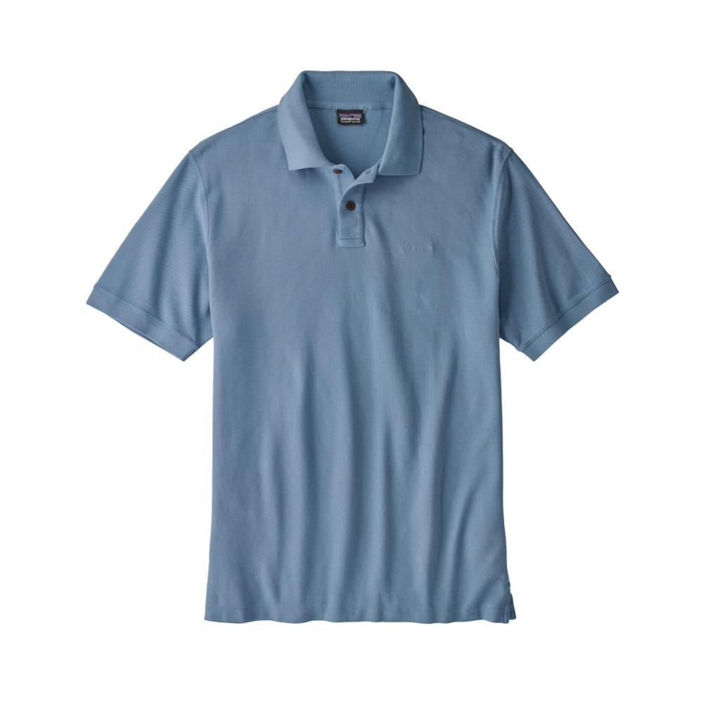 Patagonia Men's Belwe Pique Polo RBE_BLUE