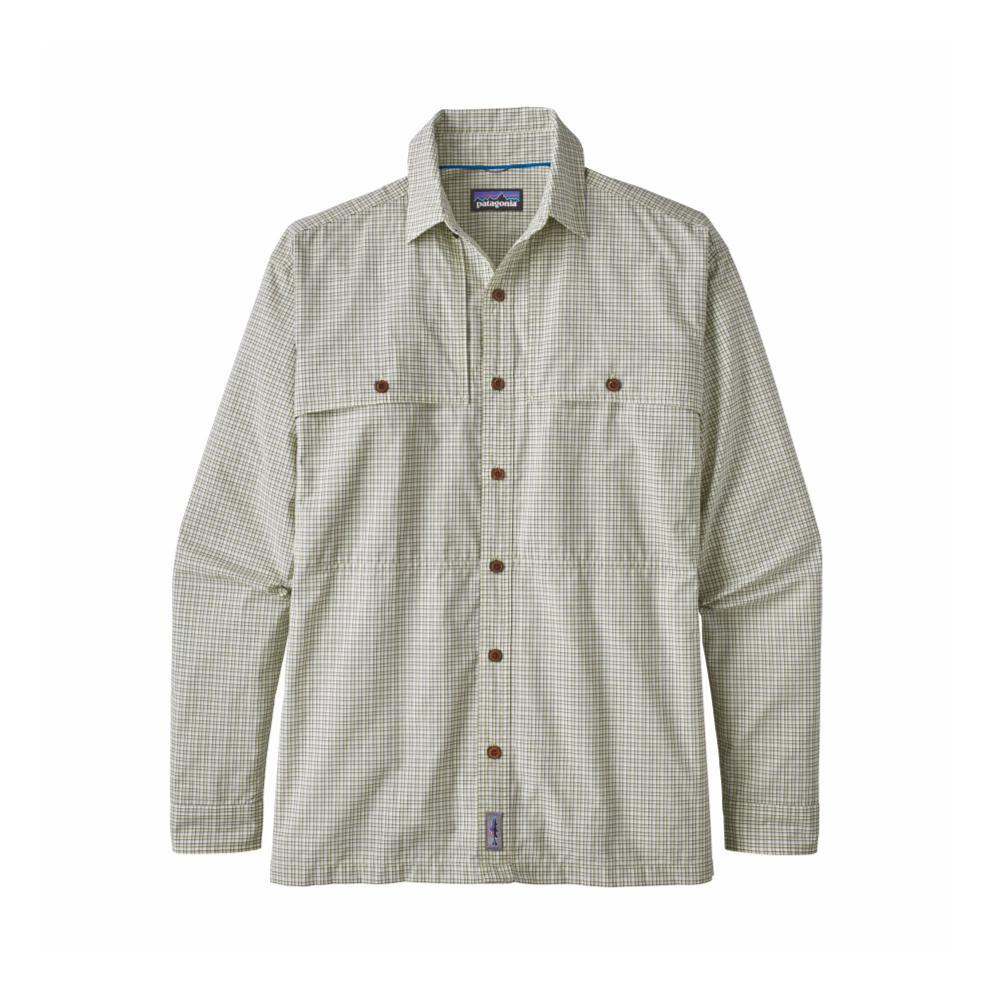 Patagonia Men's Long-Sleeved Island Hopper II Shirt DOUC_GREEN