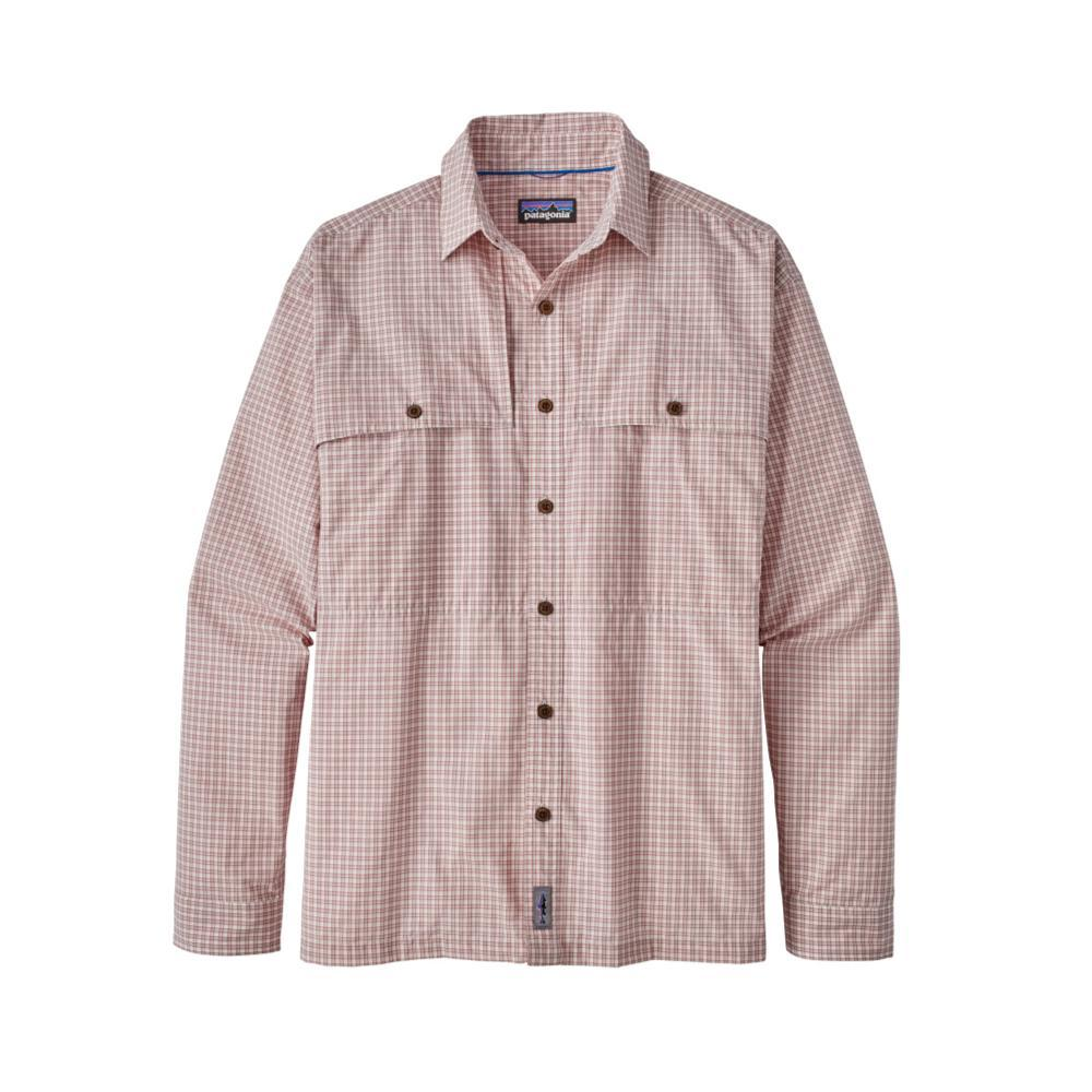 Patagonia Men's Long-Sleeved Island Hopper II Shirt DOUS_RED
