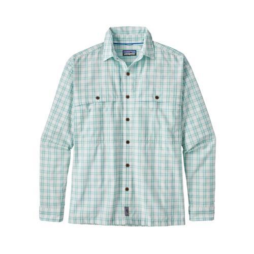 Patagonia Men's Long-Sleeved Island Hopper II Shirt Frbi_white