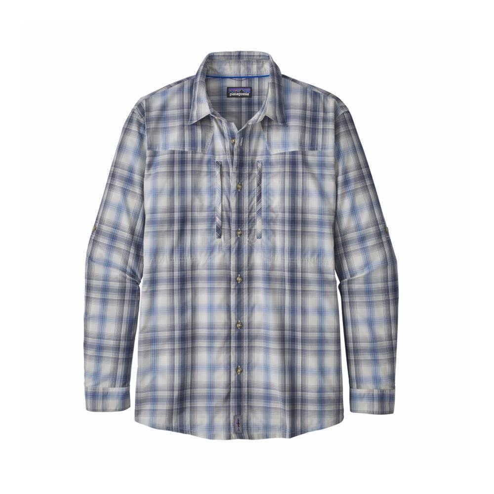 Patagonia Men's Long-Sleeved Sun Stretch Shirt KISR_BLUE