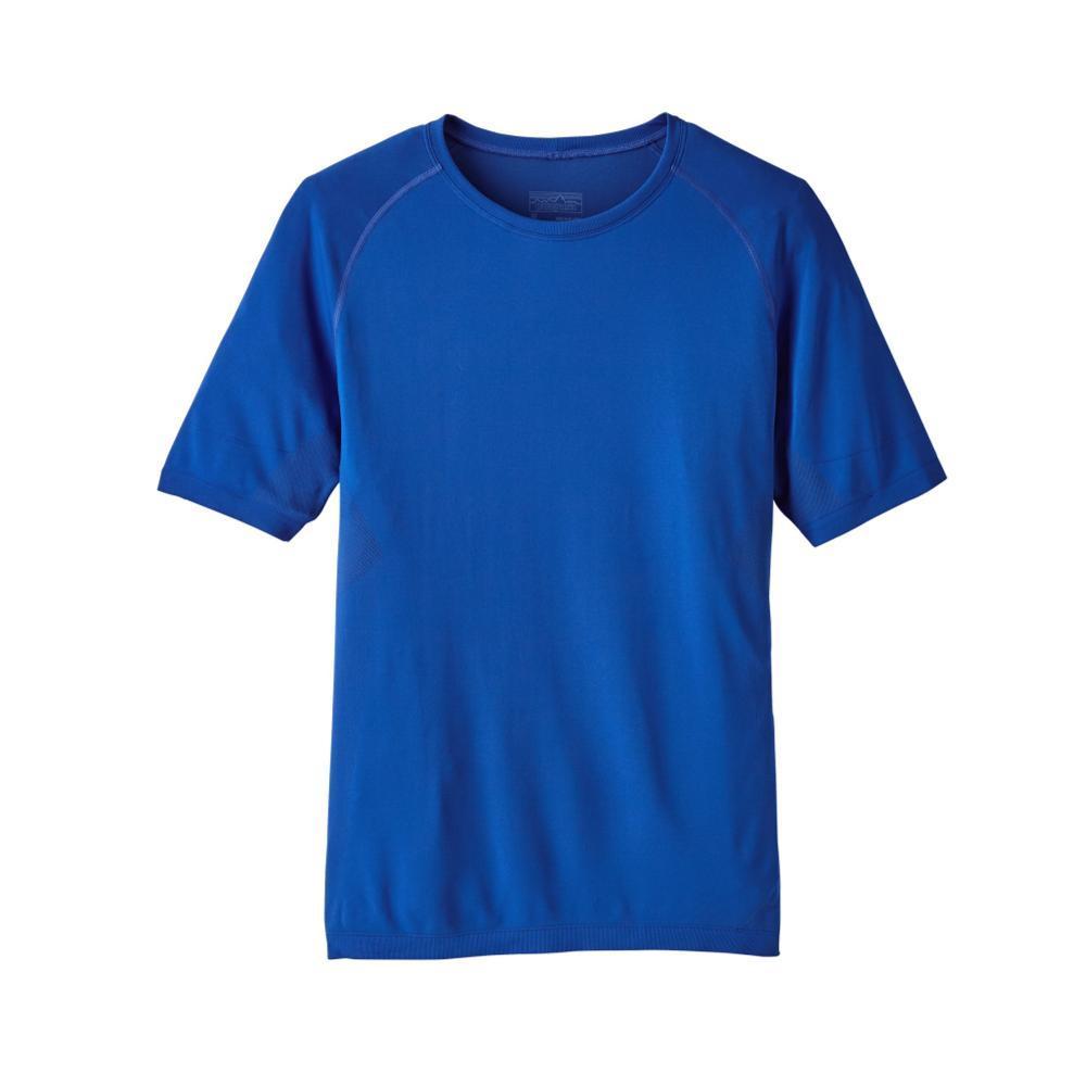 Patagonia Men's Short-Sleeved Slope Runner Shirt VIK_BLUE