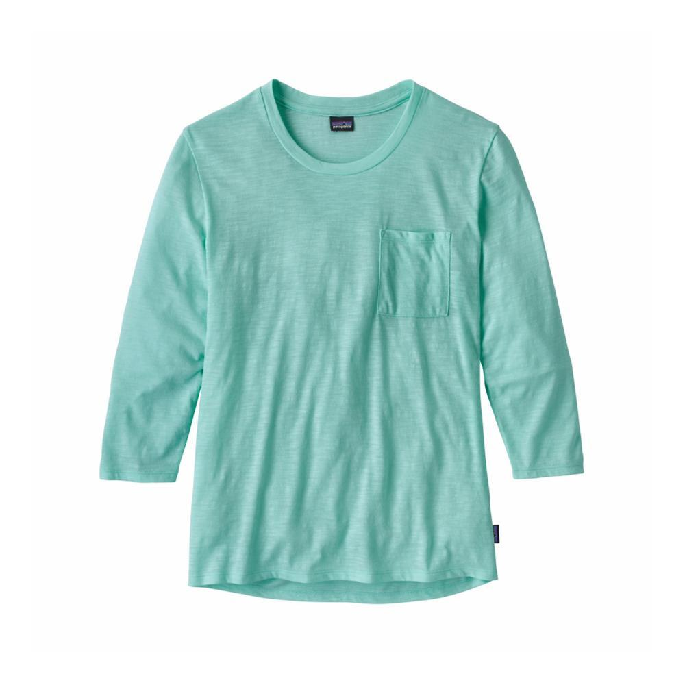 Patagonia Women's Mainstay 3/4-Sleeved Top BNDB_BLUE