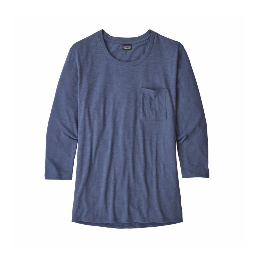 Patagonia Women's Mainstay 3/4-Sleeved Top DLMB_BLUE