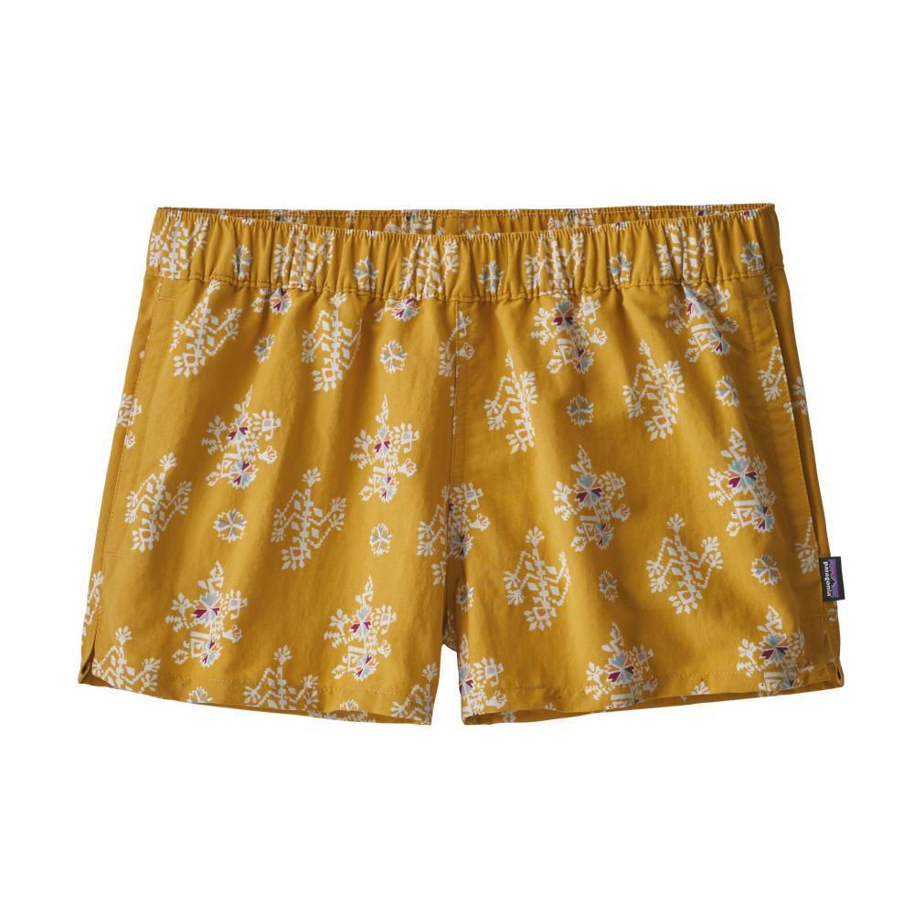 Patagonia Women's Barely Baggies Shorts - 2.5in STYA_YELLOW