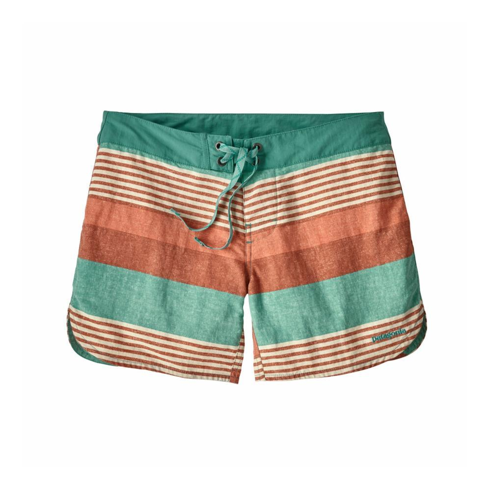 Patagonia Women's Wavefarer Boardshorts - 5in FIZB_GREEN