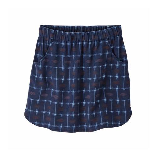 Patagonia Women's Edge Win Skirt Heic_navy