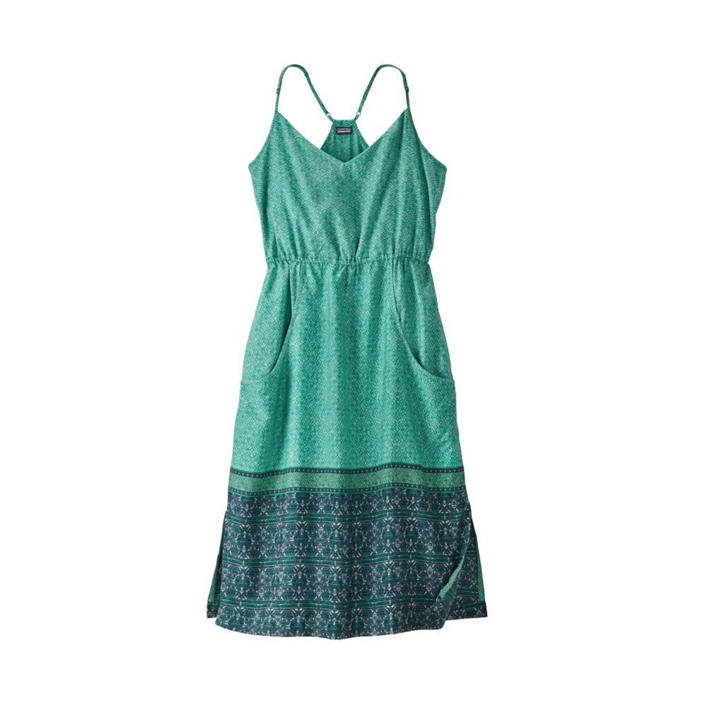 Patagonia Women's Lost Wildflower Dress SUNB_GREEN