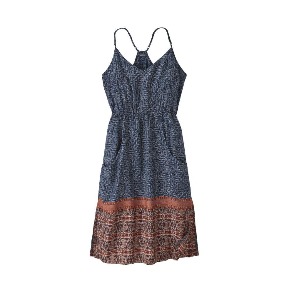Patagonia Women's Lost Wildflower Dress SUNC_NAVY