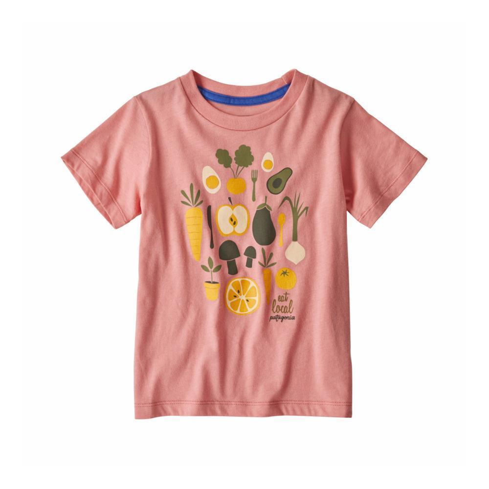 Patagonia Infant Baby Graphic Organic T-Shirt PINK_PKPK