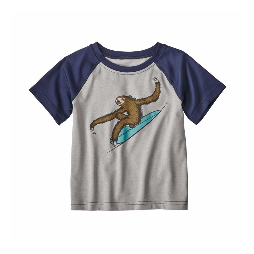 Patagonia Infant Baby Capilene Silkweight T-Shirt GREY_DFTG