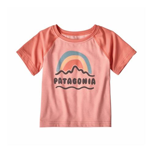 Patagonia Infant Baby Capilene Silkweight T-Shirt Pink_feap