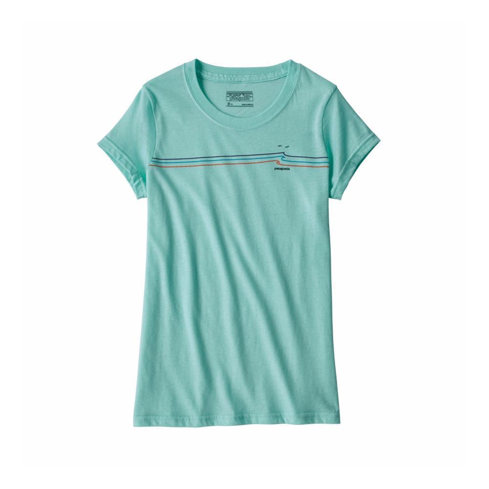 Patagonia Girls Graphic Organic T-Shirt BLUE_BNDB