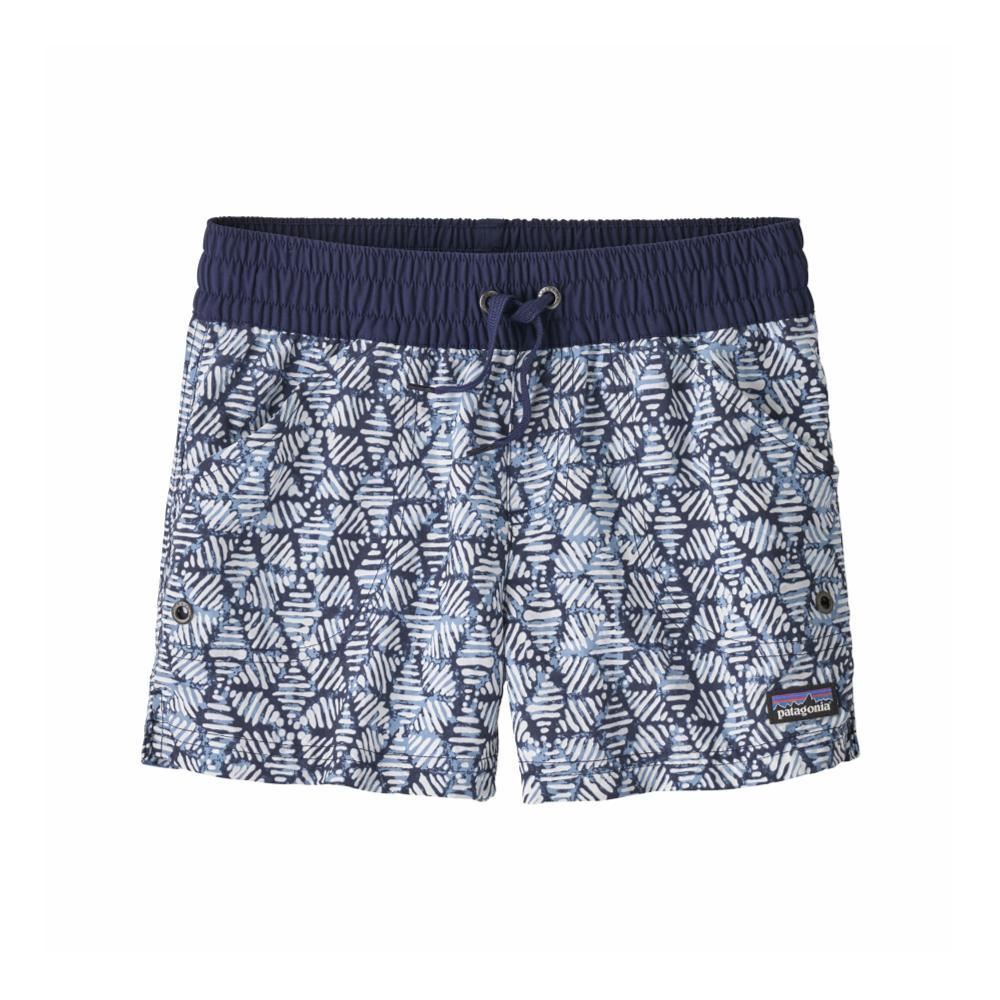 Patagonia Girls Costa Rica Baggies Shorts NAVY_BACN