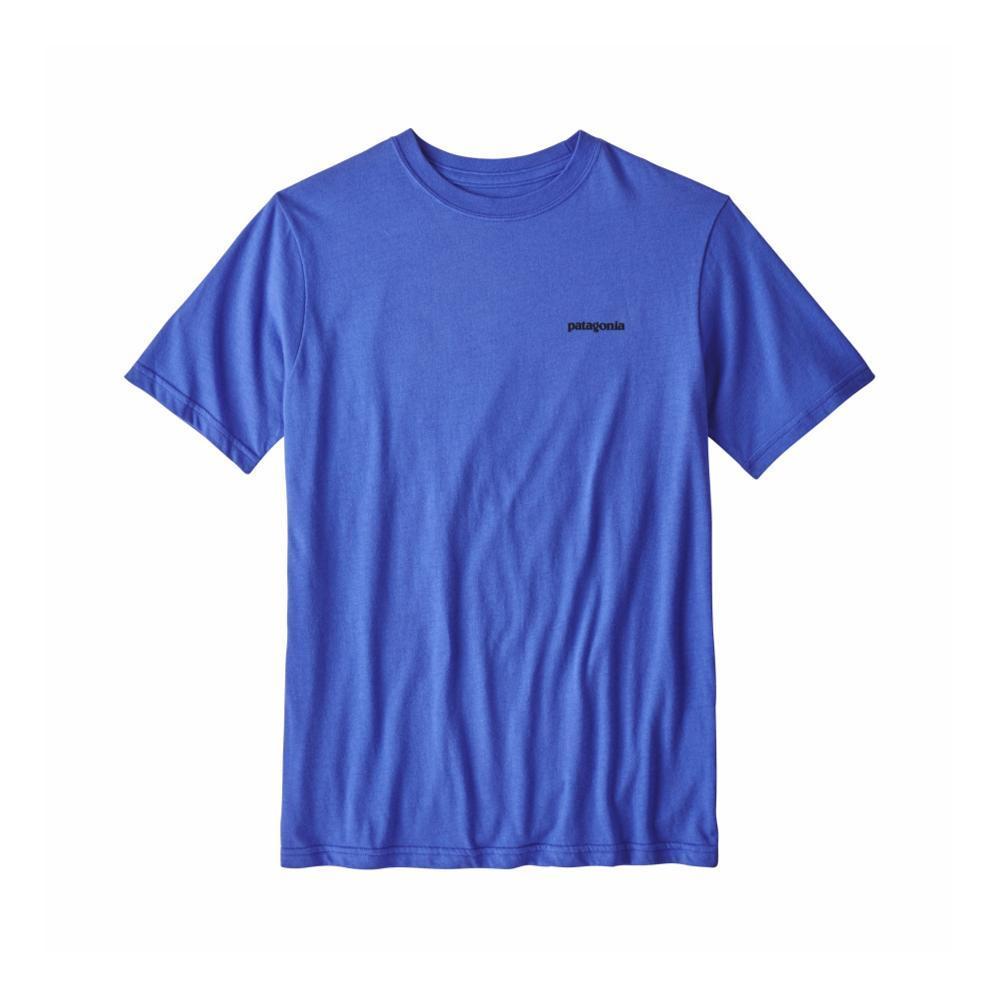 Patagonia Kids Up & Out Organic T-Shirt BLUE_IMB