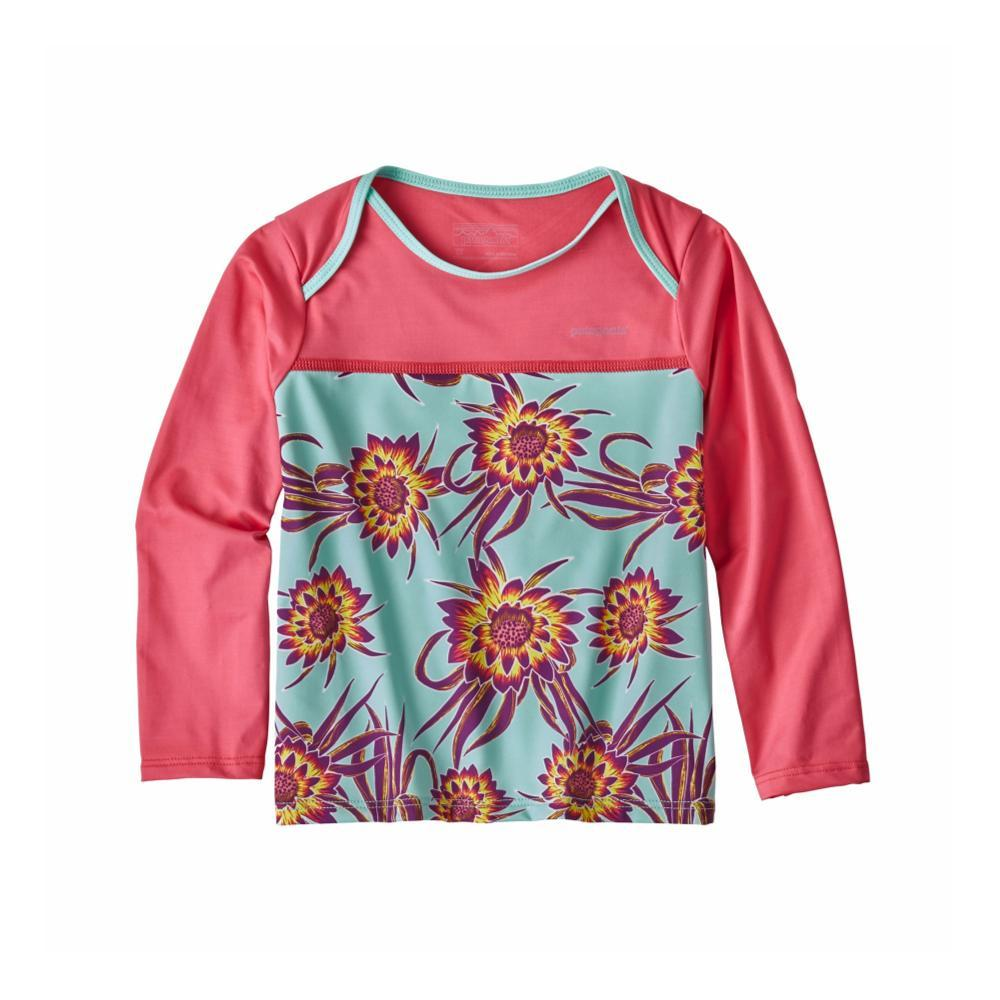 Patagonia Infant Baby Little Sol Rashguard FLOWER_CFSI