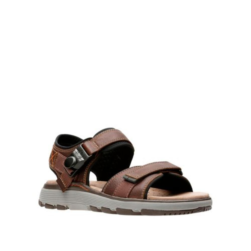 Clarks Men's Un Trek Part Sandals DRKTANLTH