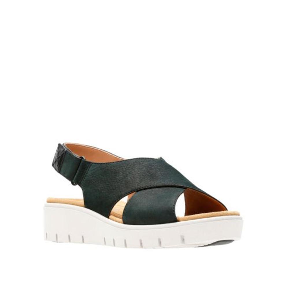 Clarks Women's Un Karely Hail Sandals BLACKNB